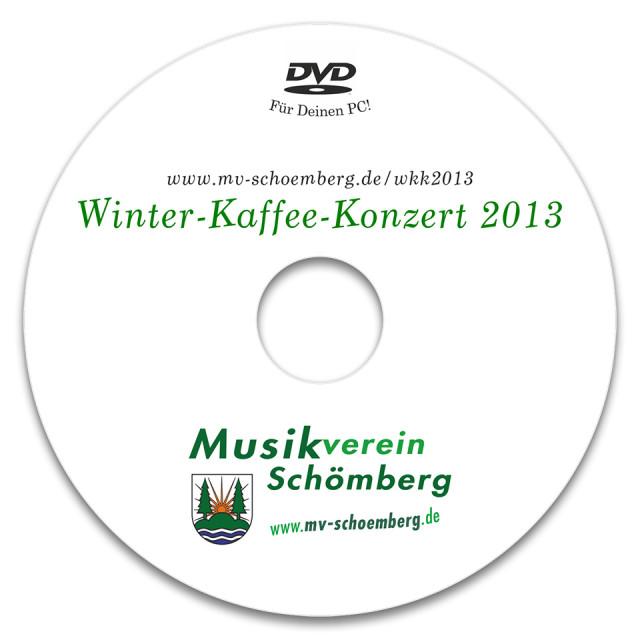 Label für Daten-DVD
