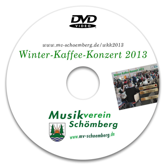 Label für Video-DVD